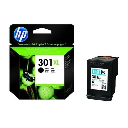 Tintenpatrone 301XL für HP DeskJet 1000/3060 8ml schwarz HP CH563EE Produktbild Front View L