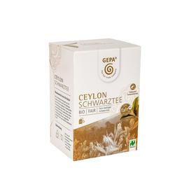 Bio Schwarztee Ceylon GEPA 8880952 (PACK=20 BEUTEL) Produktbild