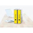 Rückenschilder zum Bedrucken 61x297mm lang breit auf A4 Bögen gelb selbstklebend Herma 5136 (PACK=60 STÜCK) Produktbild Additional View 3 S
