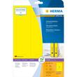 Rückenschilder zum Bedrucken 61x297mm lang breit auf A4 Bögen gelb selbstklebend Herma 5136 (PACK=60 STÜCK) Produktbild Additional View 1 S