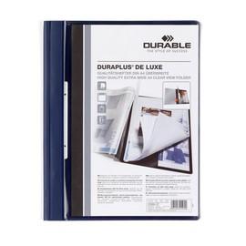 Präsentationshefter Duraplus De Luxe A4 Überbreite dunkelblau Durable 2589-07 Produktbild