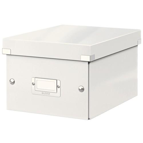 Leitz Archivbox WOW Click /& Store schwarz für A4