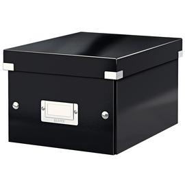 Archivbox WOW Click & Store 220x160x282mm schwarz Leitz 6043-00-95 Produktbild