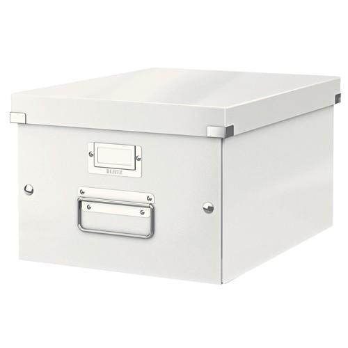 Archivbox WOW Click & Store 281x200x370mm weiß Leitz 6044-00-01 Produktbild Front View L