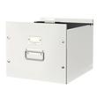 Archivbox für Hängemappe WOW Click & Store 356x282x370mm weiß Leitz 6046-00-01 Produktbild Additional View 1 S