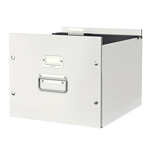 Archivbox für Hängemappe WOW Click & Store 356x282x370mm weiß Leitz 6046-00-01 Produktbild Additional View 1 L
