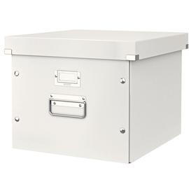 Archivbox für Hängemappe WOW Click & Store 356x282x370mm weiß Leitz 6046-00-01 Produktbild