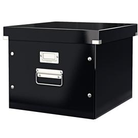 Archivbox für Hängemappe WOW Click & Store 356x282x370mm schwarz Leitz 6046-00-95 Produktbild