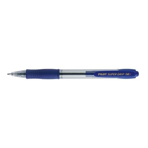 Kugelschreiber Super Grip BPGP-10R-M mittel blau Pilot 2030003 Produktbild