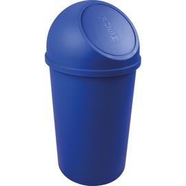 Abfallbehälter mit Push-Einwurfklappe 25l blau Helit H2401234 Produktbild