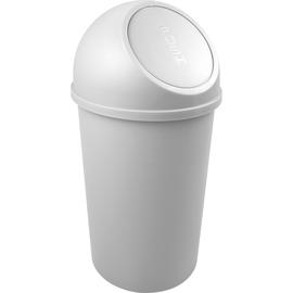 Abfallbehälter mit Push-Einwurfklappe 25l lichtgrau Helit H2401282 Produktbild
