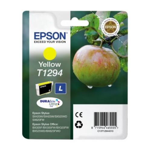 Tintenpatrone T1294 für Epson Stylus SX525WD/SX620FW 7ml yellow Epson T129440 Produktbild Front View L