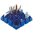 Köcher Scala 125x125x100mm blau Kunststoff HAN 17450-14 Produktbild Additional View 2 S
