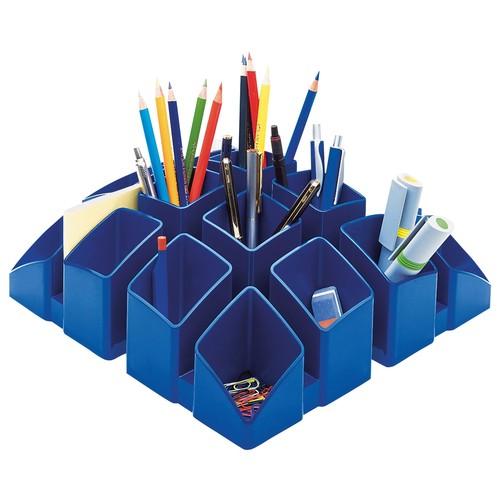 Köcher Scala 125x125x100mm blau Kunststoff HAN 17450-14 Produktbild Additional View 2 L