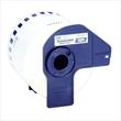 Endlosetikettenrollen wiederablösbar 62mmx30,48m weiß Papier Brother DK-44205 (PACK=30,48 METER) Produktbild