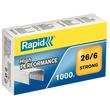 Heftklammern 26/6 STRONG verzinkt Rapid 24861400 (PACK=1000 STÜCK) Produktbild
