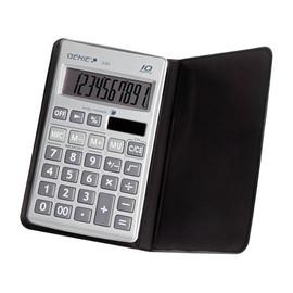 Taschenrechner 10-stelliges Display 330 67x116x8mm Solar-/Batteriebetrieb mit Klappdeckel Genie 11710 Produktbild