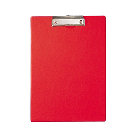 Klemmbrett A4 rot Karton mit Folienüberzug Maul 23352-25 Produktbild