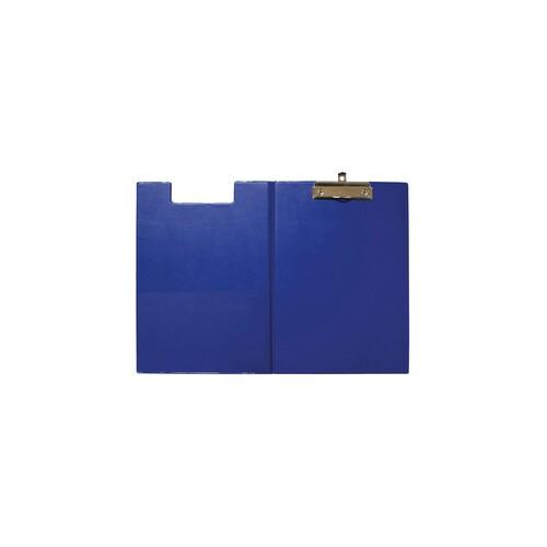 Klemmbrett mit Deckel A4 mit Tasche blau Karton mit Folienüberzug Maul 23392-37 Produktbild Additional View 1 L