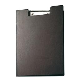 Klemmbrett mit Deckel A4 mit Tasche schwarz Karton mit Folienüberzug Maul 23392-90 Produktbild
