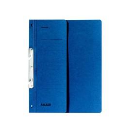 Schlitzhefter 1/2 Vorderdeckel Amtsheftung A4 blau Karton 80004021 Produktbild