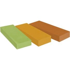 Haftstreifen Post-it Recycling Page Marker 25x76mm 3 Farben Papier 3M 671-3R (PACK=3x 100 STÜCK) Produktbild