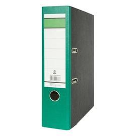 Ordner -grüner Balken- A4 80mm grün Pappe BestStandard Produktbild