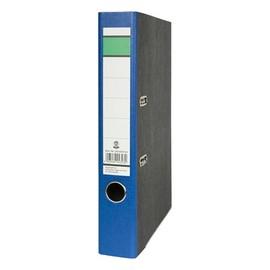 Ordner -grüner Balken- A4 50mm blau Pappe BestStandard Produktbild