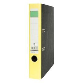 Ordner -grüner Balken- A4 50mm gelb Pappe BestStandard Produktbild