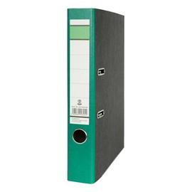 Ordner -grüner Balken- A4 50mm grün Pappe BestStandard Produktbild