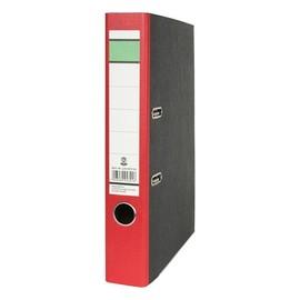 Ordner -grüner Balken- A4 50mm rot Pappe BestStandard Produktbild