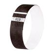 Eventbänder mit Etiketten 26cm schwarz besonders weiches Material Sigel EB215 (PACK=120 STÜCK) Produktbild Additional View 1 S