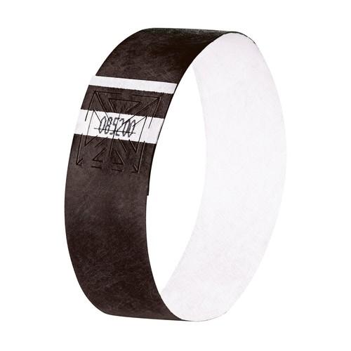 Eventbänder mit Etiketten 26cm schwarz besonders weiches Material Sigel EB215 (PACK=120 STÜCK) Produktbild Additional View 1 L