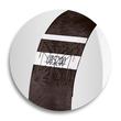 Eventbänder mit Etiketten 26cm schwarz besonders weiches Material Sigel EB215 (PACK=120 STÜCK) Produktbild Additional View 6 S