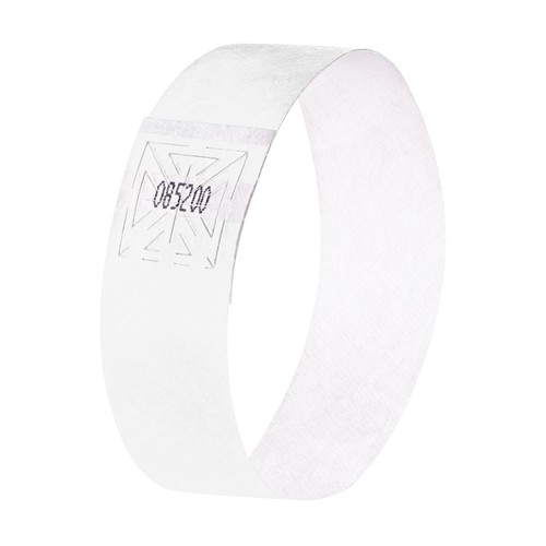 Eventbänder mit Etiketten 26cm weiß besonders weiches Material Sigel EB216 (PACK=120 STÜCK) Produktbild Additional View 1 L