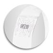 Eventbänder mit Etiketten 26cm weiß besonders weiches Material Sigel EB216 (PACK=120 STÜCK) Produktbild Additional View 6 S