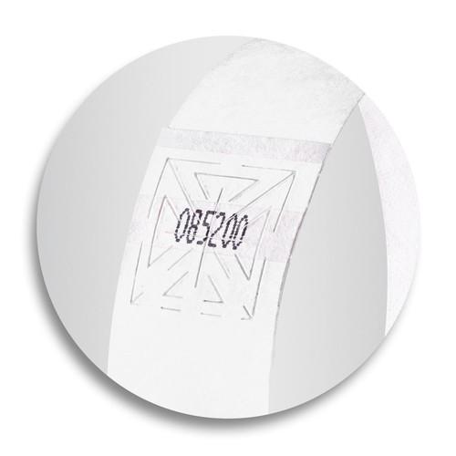 Eventbänder mit Etiketten 26cm weiß besonders weiches Material Sigel EB216 (PACK=120 STÜCK) Produktbild Additional View 6 L