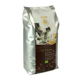 Kaffee Bio Caffé Crema ganze Bohnen GEPA 8900925 (PACK=1 KILOGRAMM) Produktbild