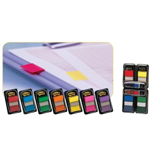 Haftstreifen Post-it Index Promotion 8+4 Streifen farbig sortiert 3M 680-P12 (PACK = 12X50STÜCK) Produktbild Additional View 4 L