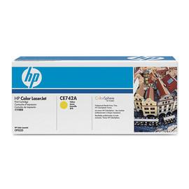 Toner 307A für Color LaserJet CP5220/5200 7300Seiten yellow HP CE742A Produktbild