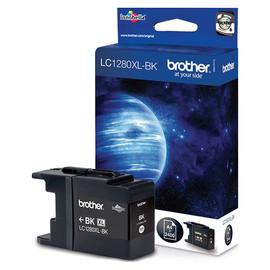 Tintenpatrone für Brother MFCJ6510DW/MFCJ6710DW 38ml schwarz Brother LC-1280XLBK Produktbild