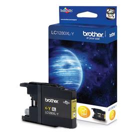 Tintenpatrone für Brother MFCJ6510DW/MFCJ6710DW 24ml yellow Brother LC-1280XLY Produktbild