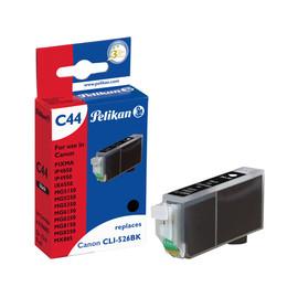 Tintenpatrone Gr. 1514 (CLI-526BK) für Pixma iP4850/MG5150 9ml schwarz Pelikan 4106605 Produktbild