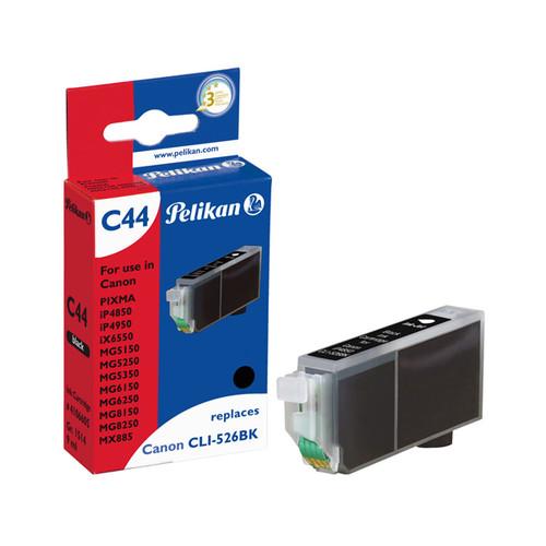 Tintenpatrone Gr. 1514 (CLI-526BK) für Pixma iP4850/MG5150 9ml schwarz Pelikan 4106605 Produktbild Front View L