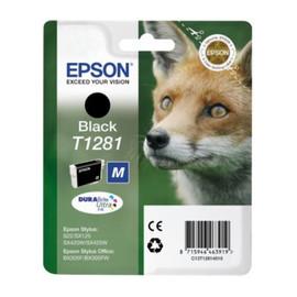 Tintenpatrone T1281 für Epson Stylus S22/SX445W 5,9ml schwarz Epson T128140 Produktbild