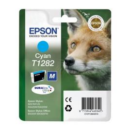 Tintenpatrone T1282 für Epson Stylus S22/SX445W 3,5ml cyan Epson T128240 Produktbild