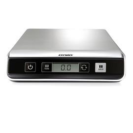 Briefwaage M10 Digital bis 10kg 2g-Teilung silber USB+Batteriebetrieb Dymo S0929010 Produktbild