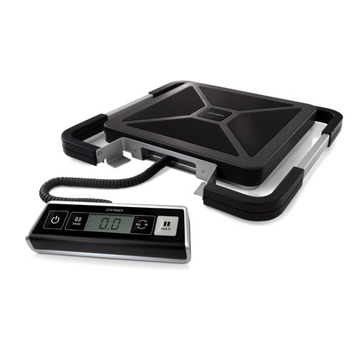 Versandwaage S100 Digital bis 100kg 100g-Teilung schwarz USB+Batteriebetrieb Dymo S0929030 Produktbild Additional View 1 L