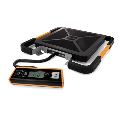 Versandwaage S180 Digital bis 180kg 200g-Teilung schwarz USB+Batteriebetrieb Dymo S0929040 Produktbild Additional View 1 L