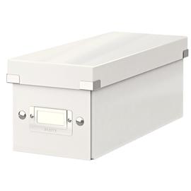 CD Ablagebox Click & Store 143x352x153mm weiß Graukarton Leitz 6041-00-01 Produktbild